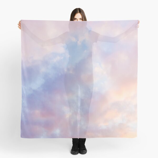 Pink sky Scarf