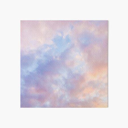 Pink sky Art Board Print