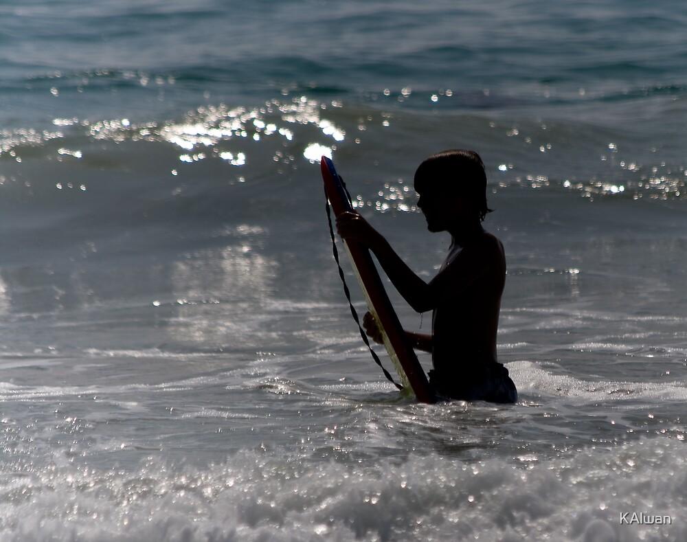 Surfer Silhouette by KAlwan