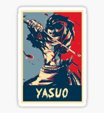 League of Legends Yasuo Sticker