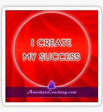 I create my succes Sticker