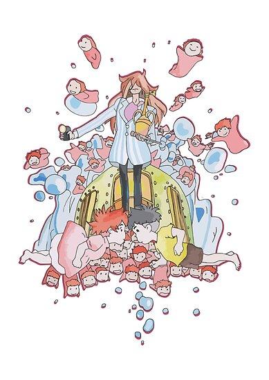 Studio Ghibli - Ponyo