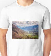 Crown Range Road New Zealand View T-Shirt