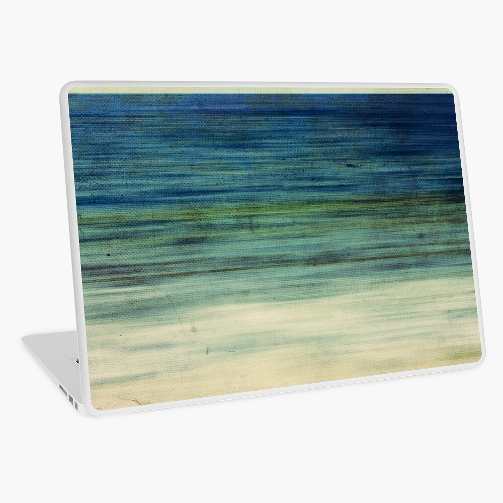 Abstract Seascape No 2 Laptop Skin