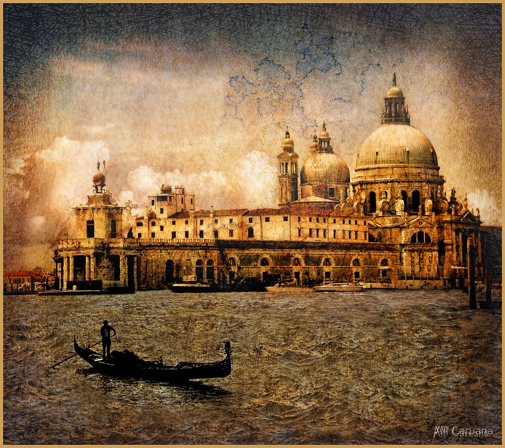 Painted Venice by Alf Caruana