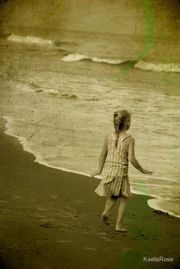 Running towards the tides. by KaelaRose