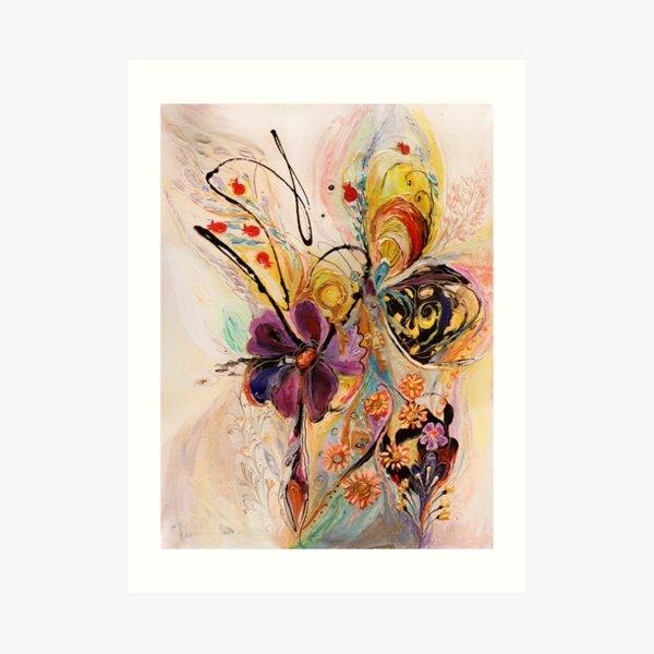 The Splash Of Life. Composition 2 Art Print