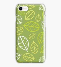 Carob Tree Leaves iPhone Case/Skin