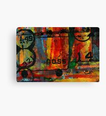 Project 321 - Abstract Boss Canvas Print