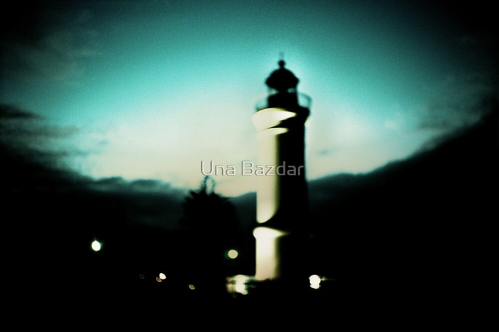 ...he stares ahead with misty eyes by Una Bazdar