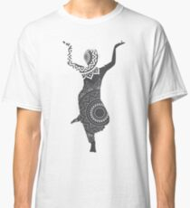 Silhouettes of Bollywood Dancers Classic T-Shirt