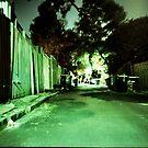silent streets by Una Bazdar