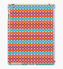 Simple Colourful Flower Print iPad Case/Skin