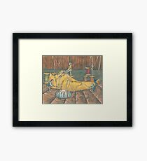 Elves and the Shoemaker Framed Print