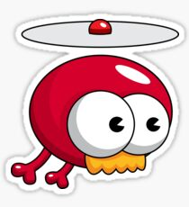 Cute Propeller Beanie Character Sticker