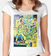 Music of My Life Women's Fitted Scoop T-Shirt