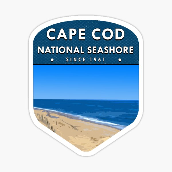 Cape Cod national sea shore Sticker