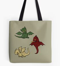 Game of Thrones Dragons Tote Bag