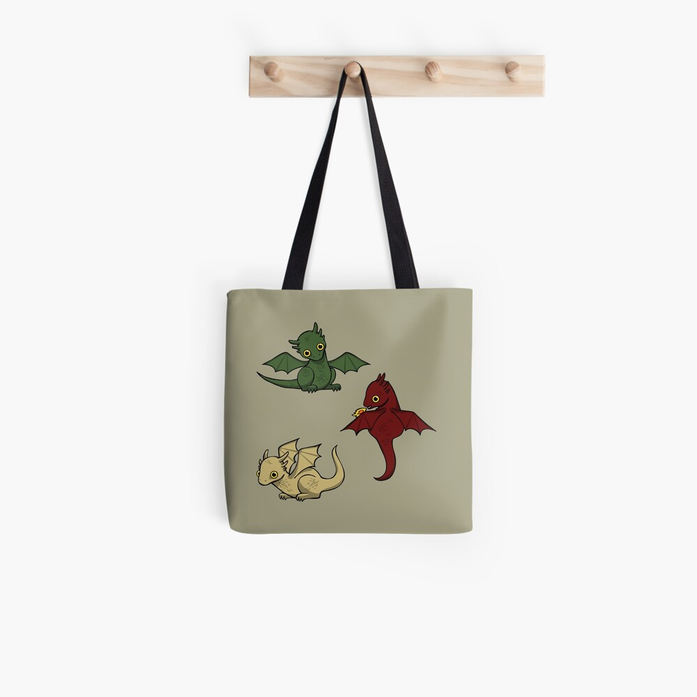 Game of Thrones Drachen Tote Bag