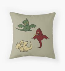 Game of Thrones Dragons Throw Pillow