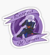 Respect Women Sticker