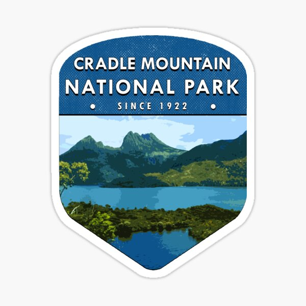 Cradle Mountain National Park Sticker