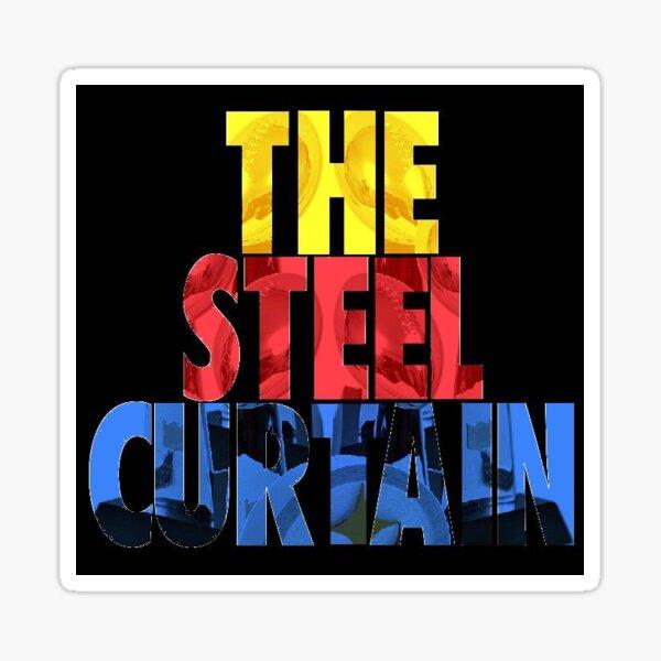 The Steel Curtain Sticker