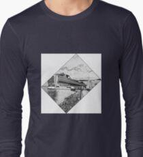 black and white cruise T-Shirt
