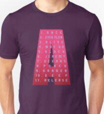 Ten Tracklist Unisex T-Shirt