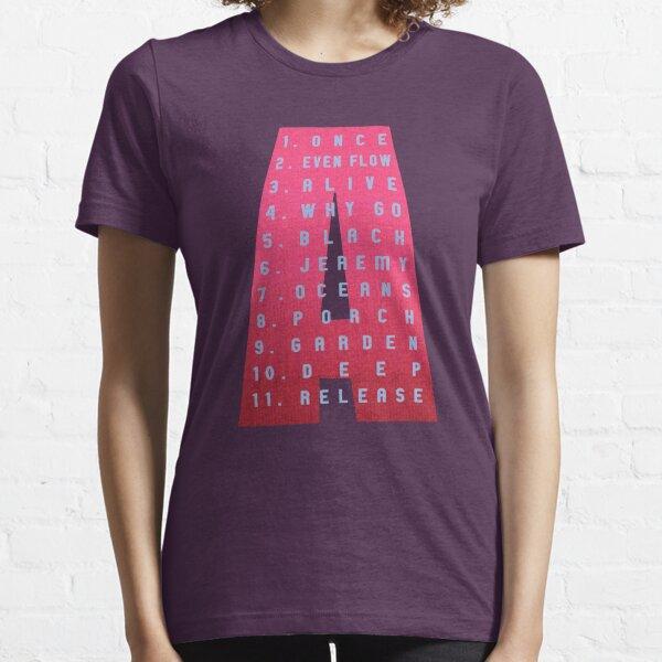 Ten Tracklist Essential T-Shirt