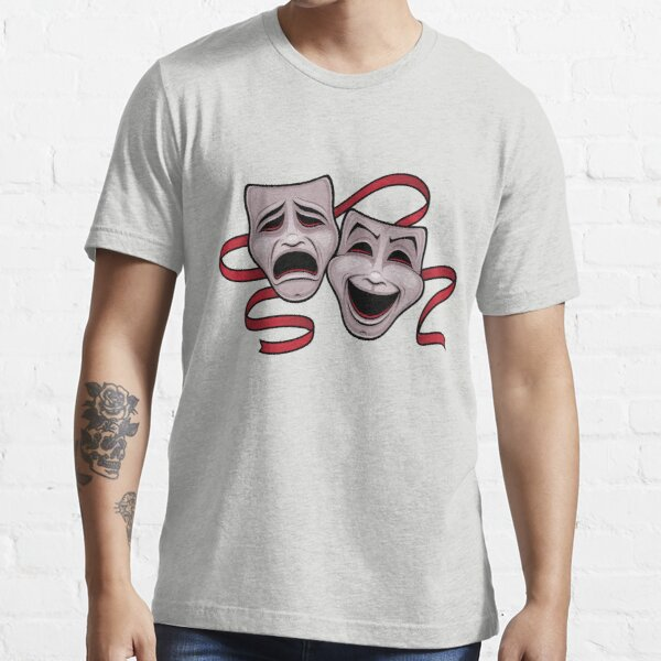 Comedy And Tragedy Theater Masks Essential T-Shirt