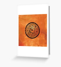 Chinese Zodiac Signs Greeting Card