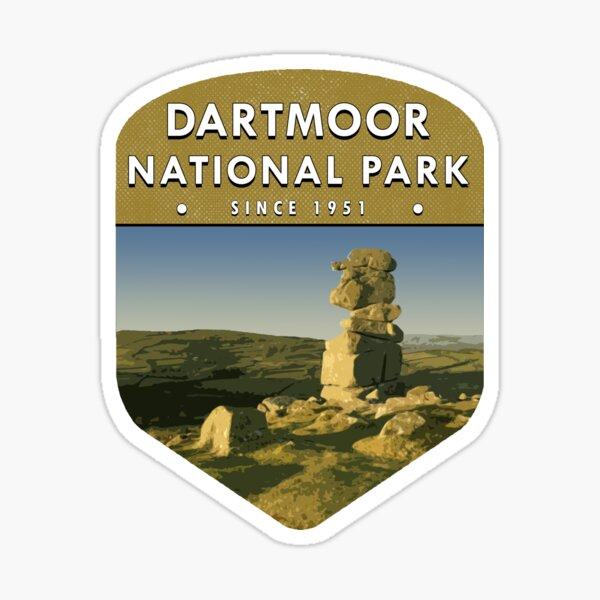 Dartmoor National Park Sticker