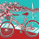 bicycle bloom by Annie Riker