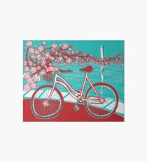 bicycle bloom Art Board