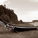 Haida Canoe #1 (Haida Gwaii Museum, Skidegate, British Columbia, Canada) by Edward A. Lentz