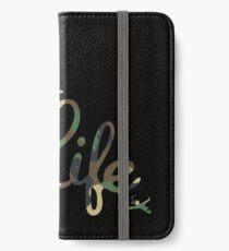 JL camouflage iPhone Wallet/Case/Skin