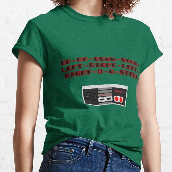 Konami Code T-shirt classique