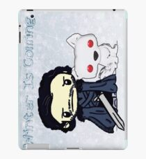 Snow And His Companion iPad Case/Skin