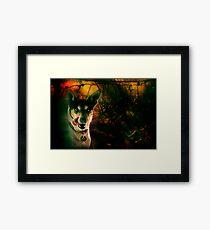 the terrier of the baskervilles Framed Print