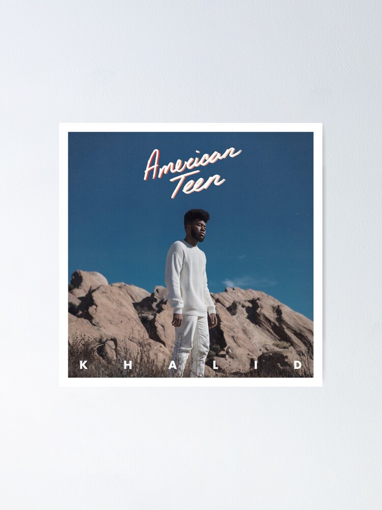 Alternate view of Khalid Poster