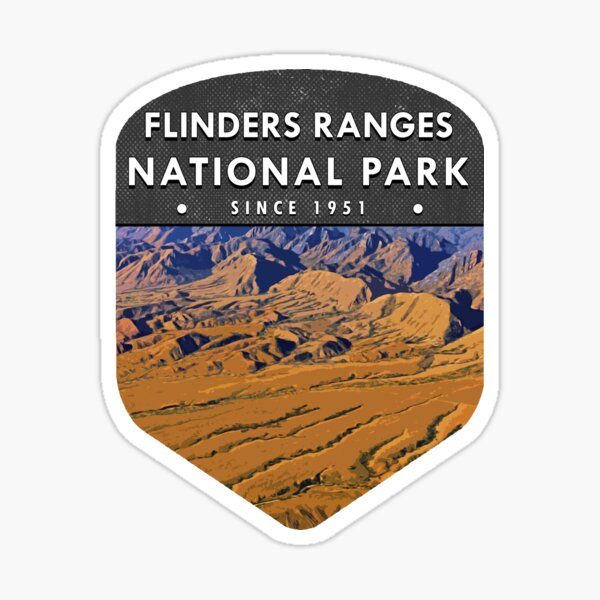 Flinders Ranges National Park Sticker
