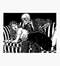 Death and the Maiden: Spanking Edition Photographic Print