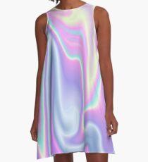 Holographic Design 17 A-Line Dress