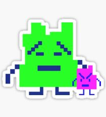 ATHF - Mooninites   ignignokt and err Sticker