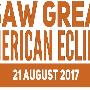 I saw great American eclipse by daydeal