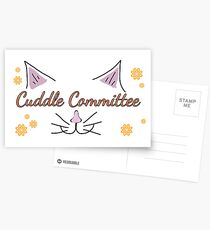 Cuddle Committee Postcards