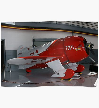 Gee-Bee R2 Super Sportster Poster
