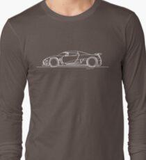 Koenigsegg Agera - Single Line Long Sleeve T-Shirt