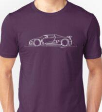 Koenigsegg Agera - Single Line Unisex T-Shirt